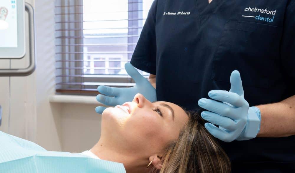 Dental checkup at Chelmsford.